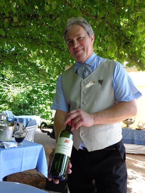 Loïc Baldet au service des vins © GP