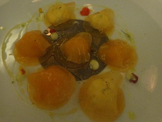 Ravioles de melon © GP