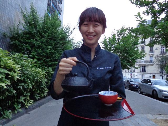 Le service du thé © GP