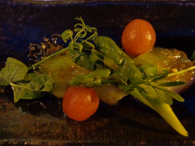 """Légumes d'été, assaisonnement """"Kômi-daré"""" ©GP"""
