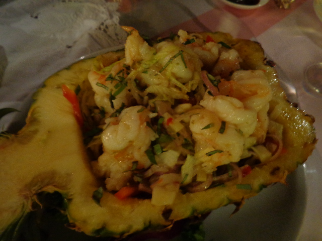 Salade de crevettes ©