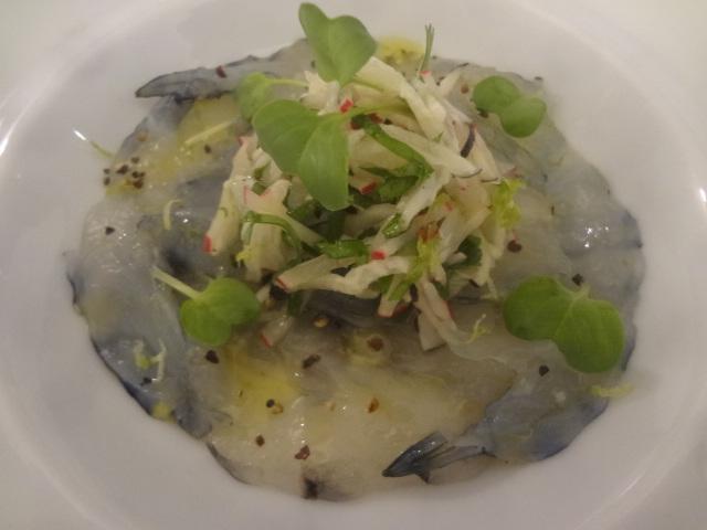 Crevettes sauvages et bouillon à la citronnelle ©GP