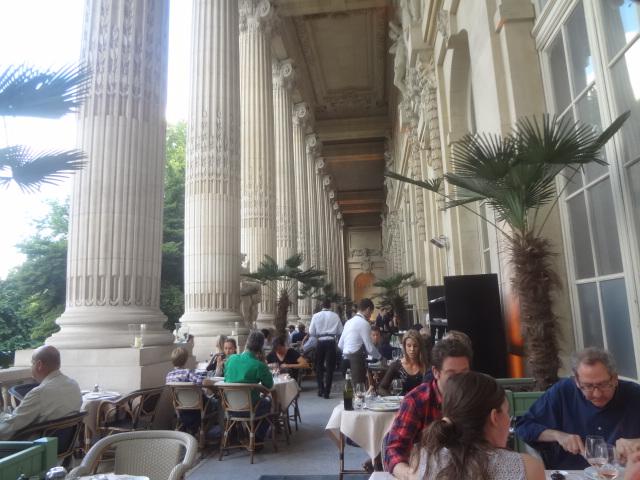 Mini palais au grand palais restaurant paris 8e en terrasse au mini palais coups de coeur - Restaurant en terrasse paris ...