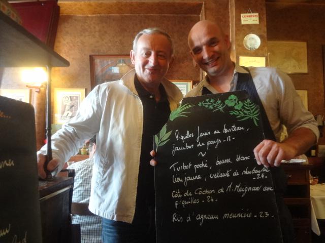 Yann Queffélec et Pierre Cheucle © GP