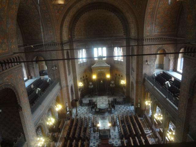 L'intérieur de la synagogue © GP