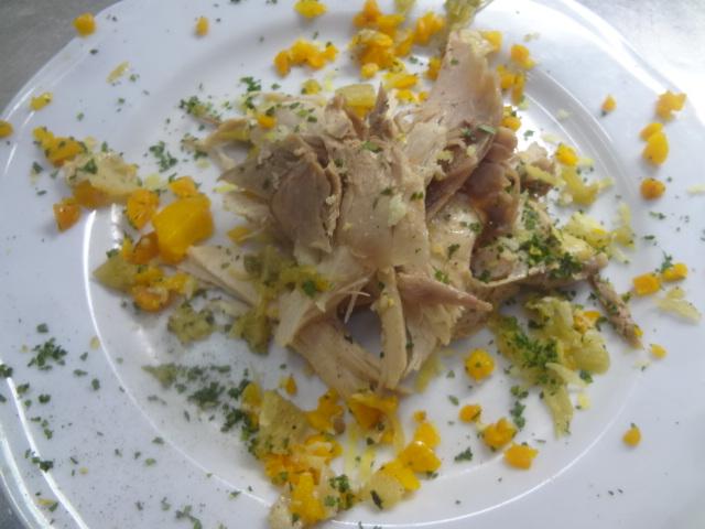 Salade de poulet © GP