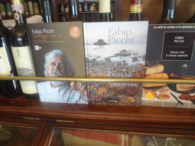 Fabio Picchi et ses livres © GP