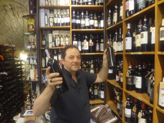 Maurizio et ses vins © GP