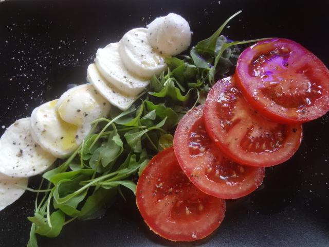 Tomate, mozzarella © GP