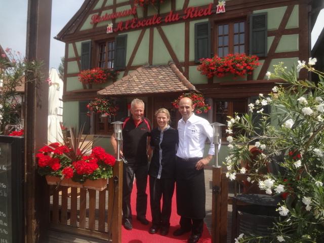 Roger Bahl avec Véronique et Jacob © GP