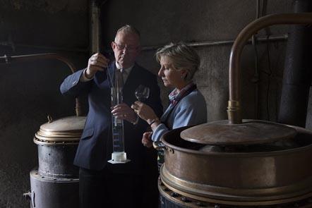 Hubert et Anne-Marie Grallet ©Maurice Rougemont
