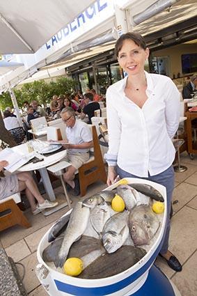 Les poissons du jour © Maurice Rougemont