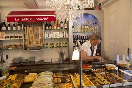 Les pâtisseries ©Maurice Rougemont