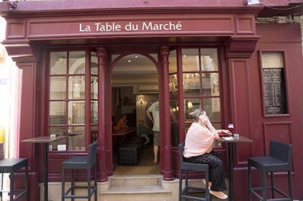 La Table Du Marche Restaurant Saint Tropez Le Bistrot De