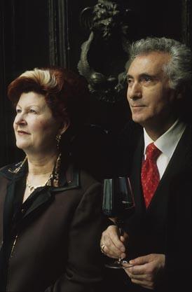 Annie Féolde et Giorgio Pinchiorri ©Maurice Rougemont