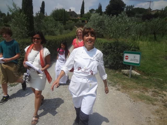 Silvia et son école de cuisine © GP
