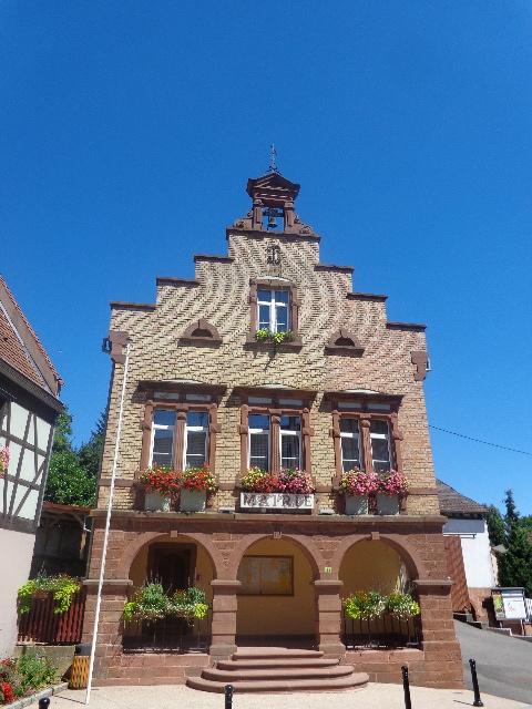 La mairie de Mietesheim