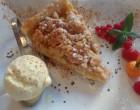 Tarte aux pommes streussel © GP
