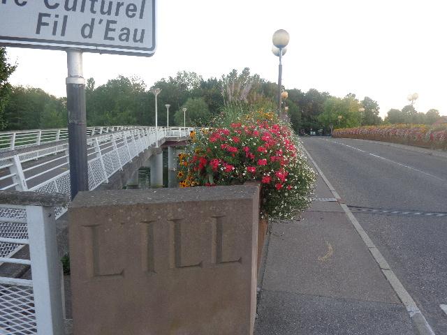 Le Pont sur l'Ill © GP