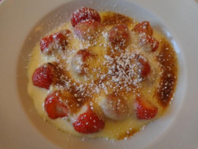 Gratin de fraises © GP