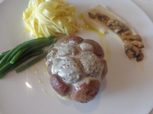 Rognon de veau à la moutarde © GP