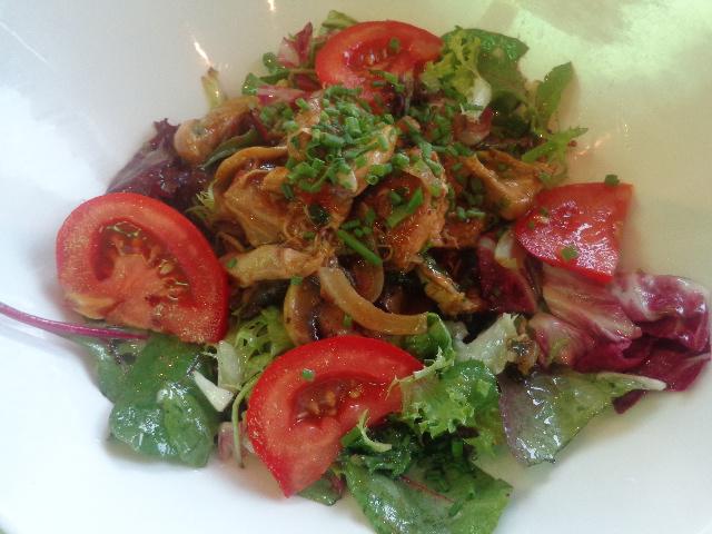 Salade de lapin © GP