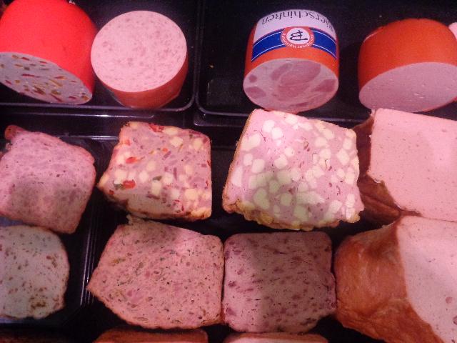 Quelques variétés de saucisses © GP