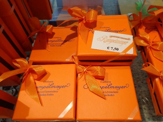 Boîtes de chocolat © GP