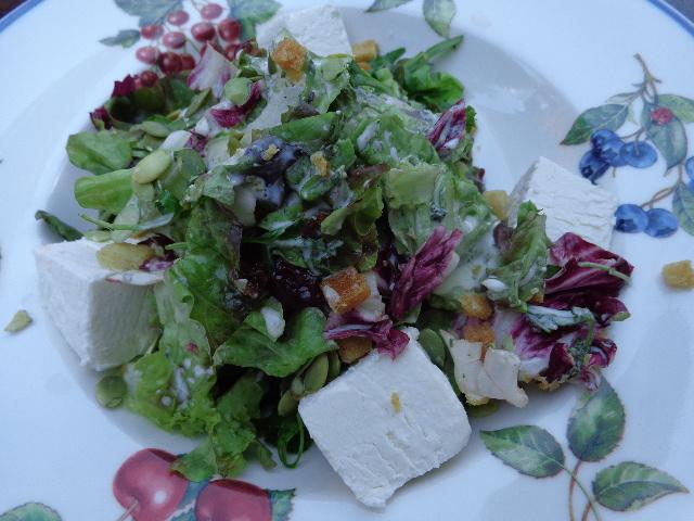 Salade de chèvre © GP