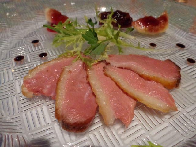 Filet de canard aux figues © GP