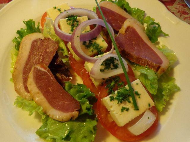 Salade de munster © GP