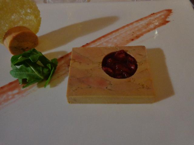 Foie gras et confiture de fraises ©GP