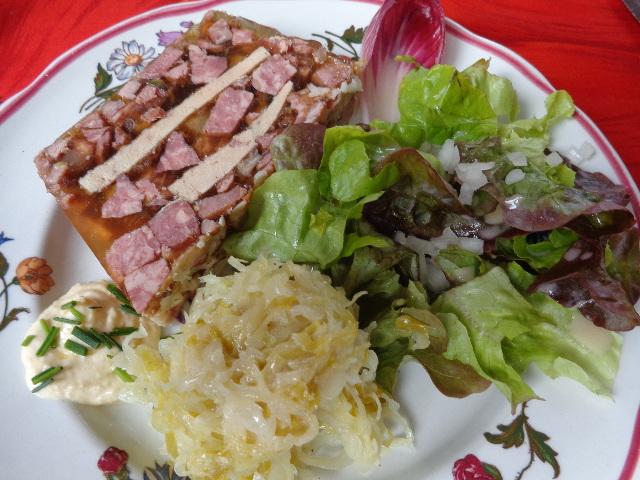 Presskopf au foie gras ©GP