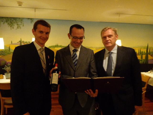 Thomas Scheidt, Olivier Vernet, Jean-Marc Boutilly © GP