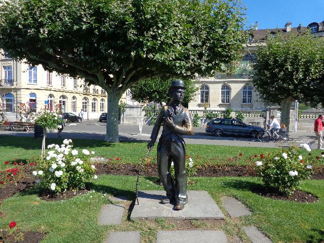 Statue de Charlot © GP