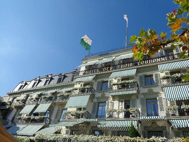 La façade de l'hôtel © GP
