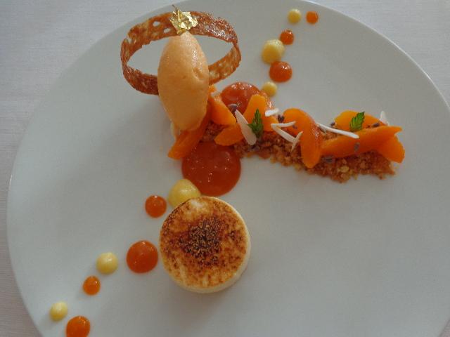 Soufflé chaud aux abricots © GP
