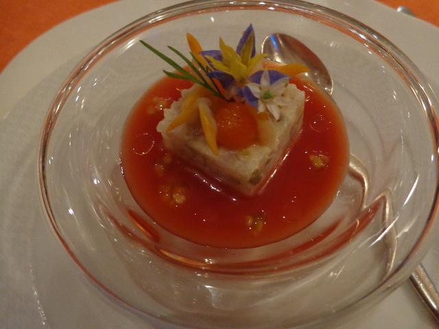 Daurade et tomate © GP