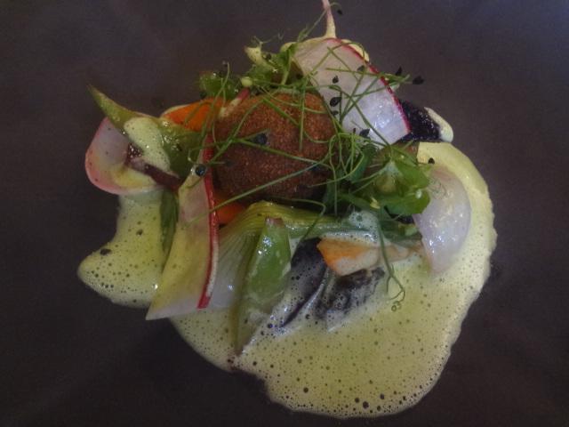 Légumes aux escargots © GP
