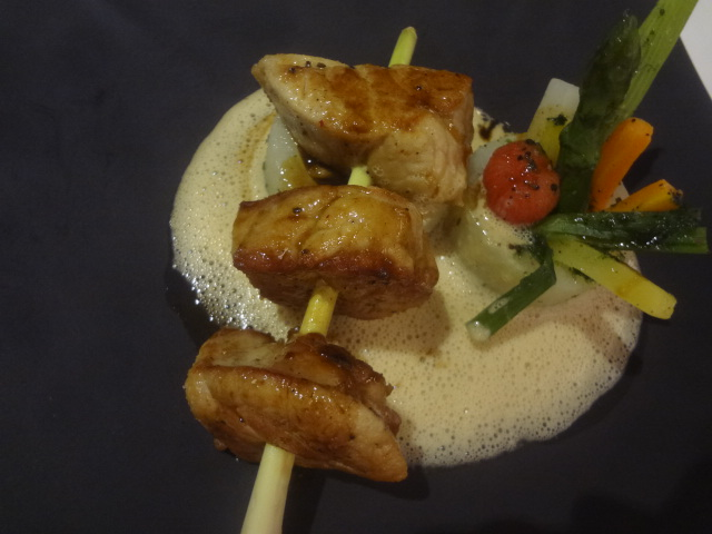 Ris de veau rôti au beurre salé © GP