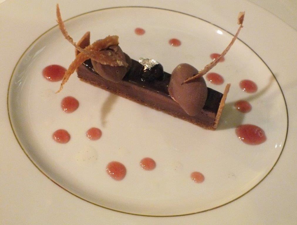 Tarte au chocolat pur Caraïbes © AA