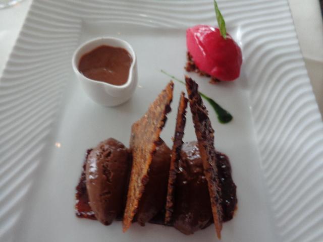 Chocolat et framboise © GP