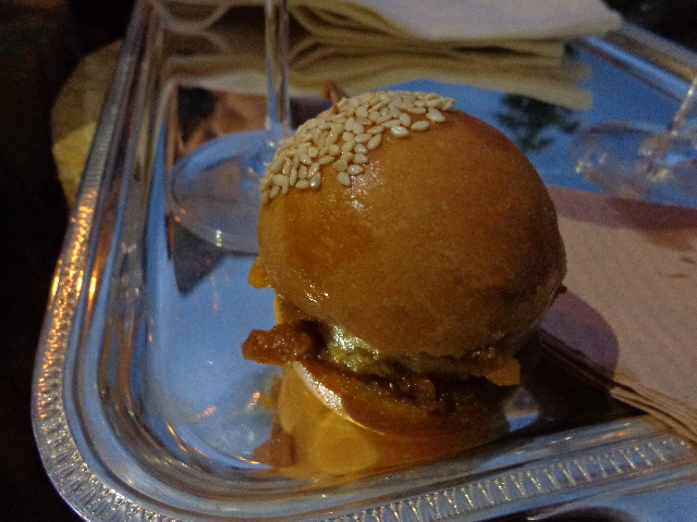 Burger de foie gras et figues © GP