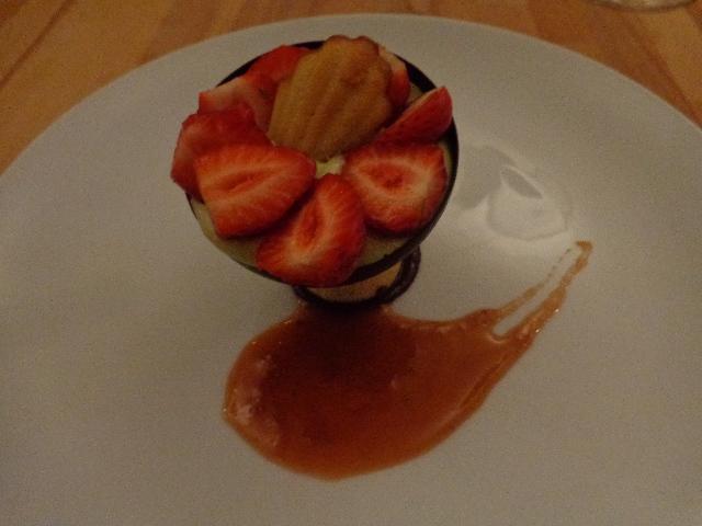 Sablé breton et fraises © GP