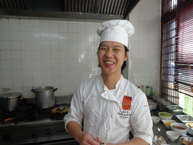 Shan Yi en cuisine © GP