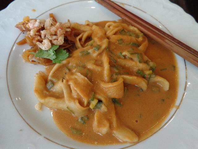 Nouilles aux crevettes séchées © GP