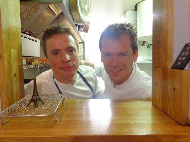 Thierry Dufroux (droite) et son second © GP