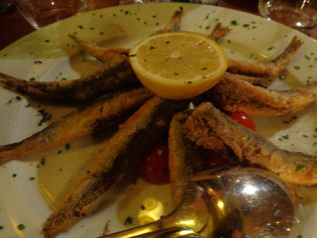 Friture de sardines © GP