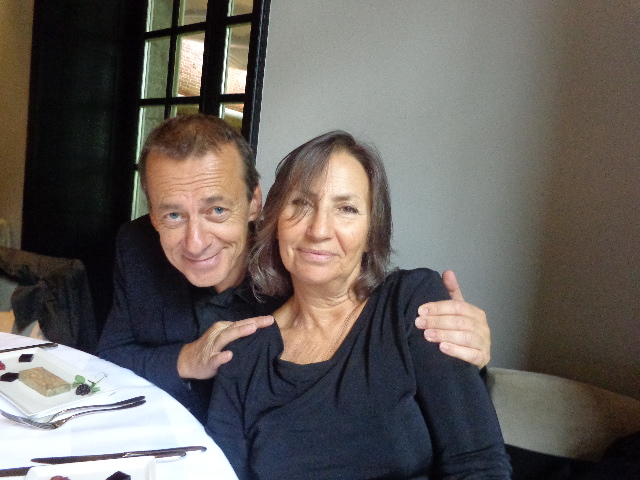 Olivier Nora et Teresa Cremisi © GP