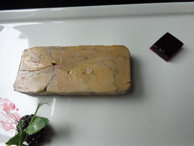 Foie gras mariné sangria © GP